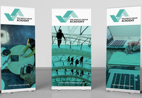 Adecco Academy Banners