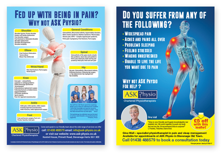 Ask Physio Ads